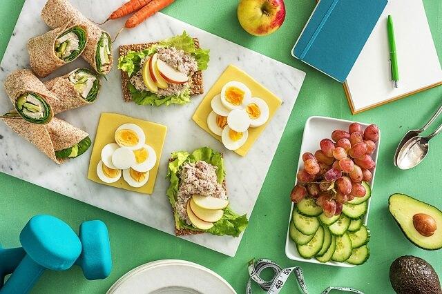 Ăn nhẹ trước khi tập gym