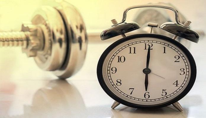 Bạn có thể chọn giờ tập vào bất kỳ thời điểm nào trong ngày