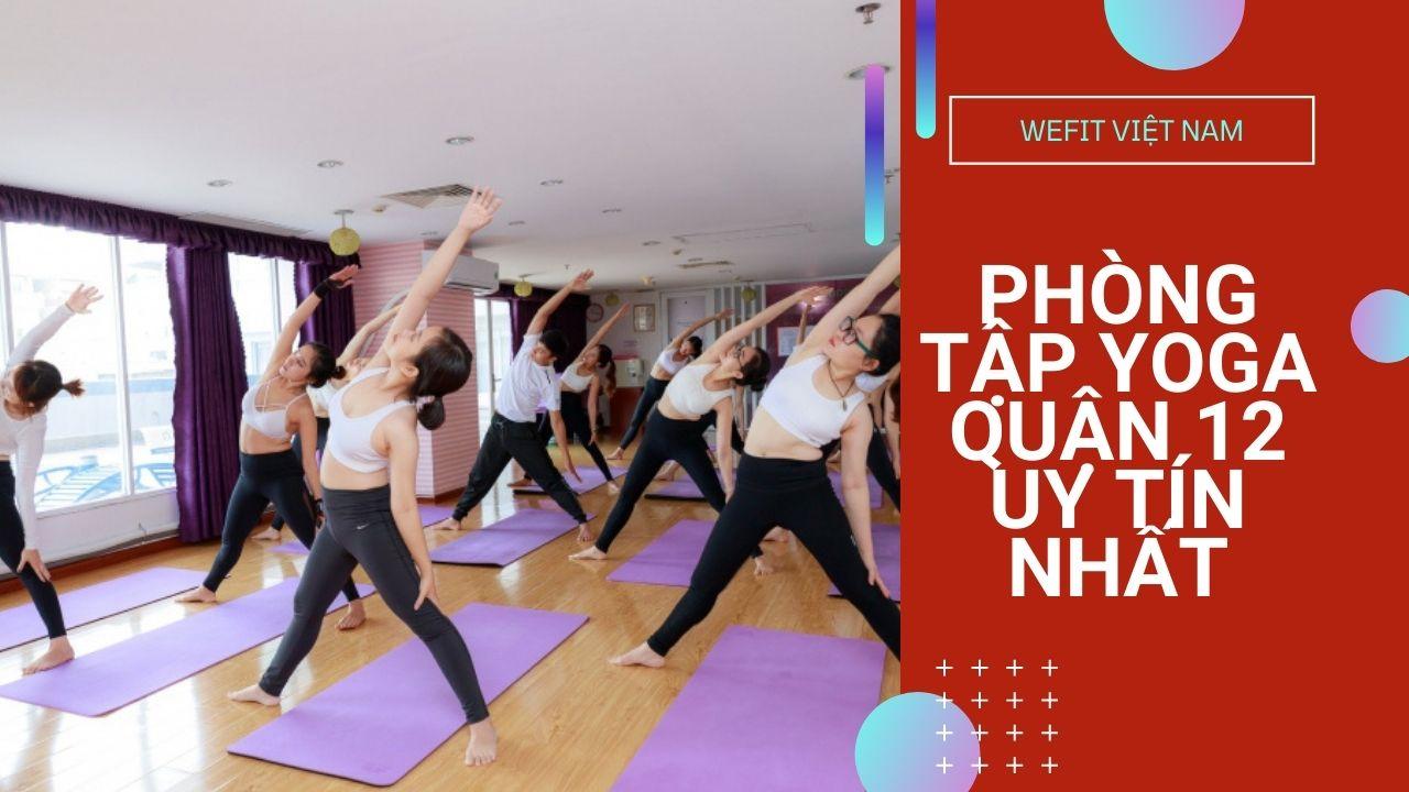 phòng tập yoga quận 12