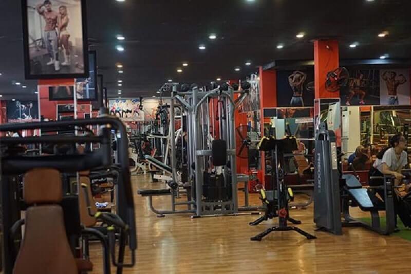 Các phòng tập gym quận 11