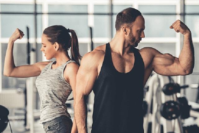Cần phải luyện tập theo cường độ phù hợp với khả năng của bản thân để quen dần với việc tập luyện