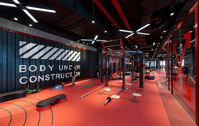 City Gym ở các cơ sở đều có một không gian rộng rãi