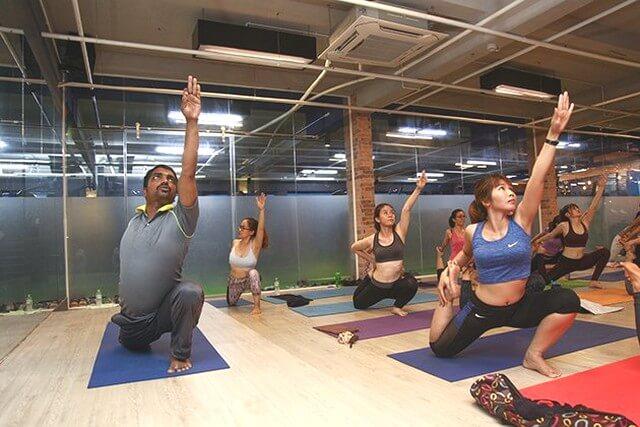 Đội ngũ HLV Fox Fitness & Yoga Center chuyên nghiệp