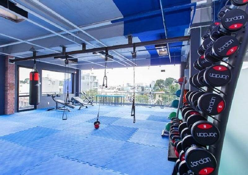 """phòng tập gym quận Tân Phú """"sang - xịn - mịn"""" nhất hiện nay"""