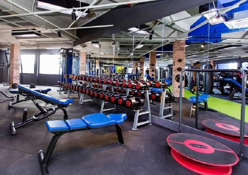 top phòng gym quận 10