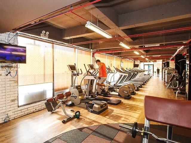 Phòng gym quận 7 Yofi Center - phòng tập tiện nghi và chất lượng