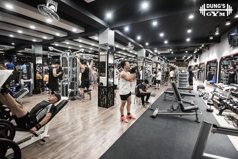 Phòng tập Dung's gym