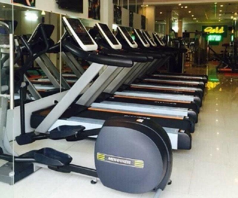 Phòng tập Gold Gym