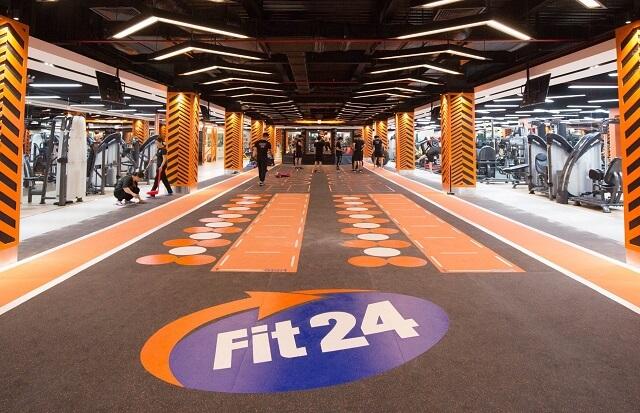 Phòng tập Gym Fit24 là phòng tập của Châu Âu đầu tiên xuất hiện tại Hồ Chí Minh.