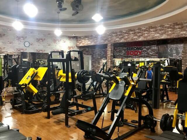 Phòng tập Gym quận 1 T&V Fitness Center