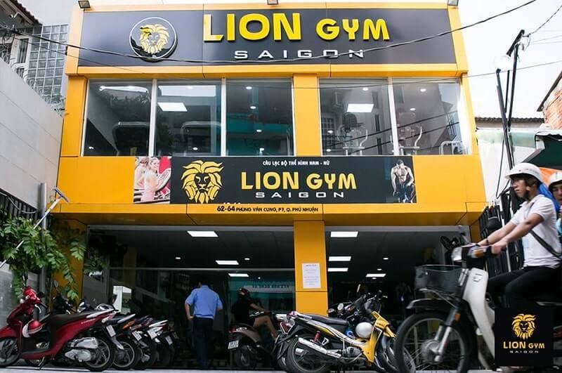 Phòng tập Lion gym Saigon