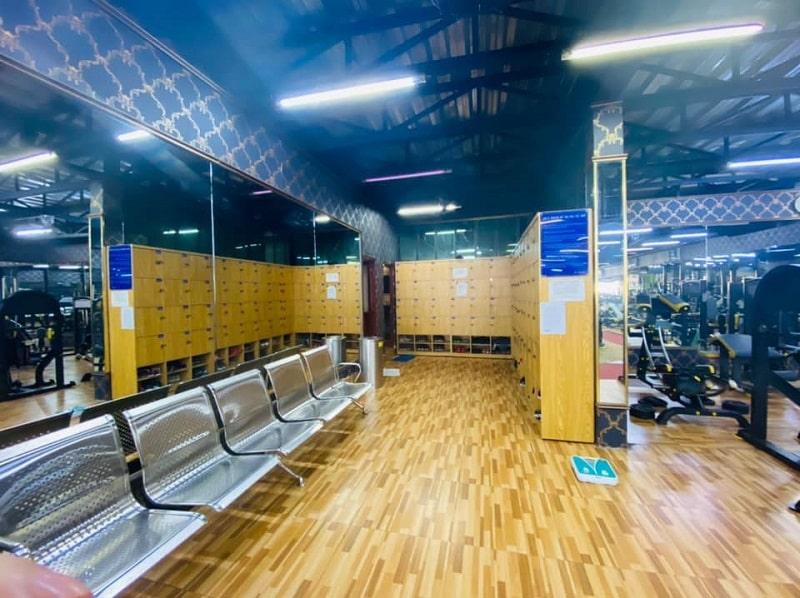 Phòng tập gym Tài Nguyên nằm tại quận Gò Vấp