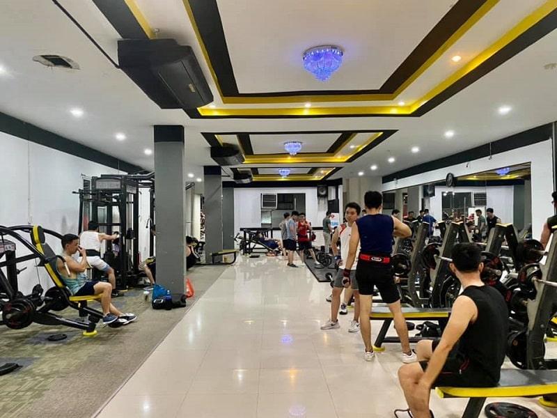 Phòng tập gym Tài Nguyên nằm tại quận Tân Phú