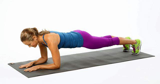 Plank giúp cơ thể dẻo dai, săn chắc vô cùng hiệu quả