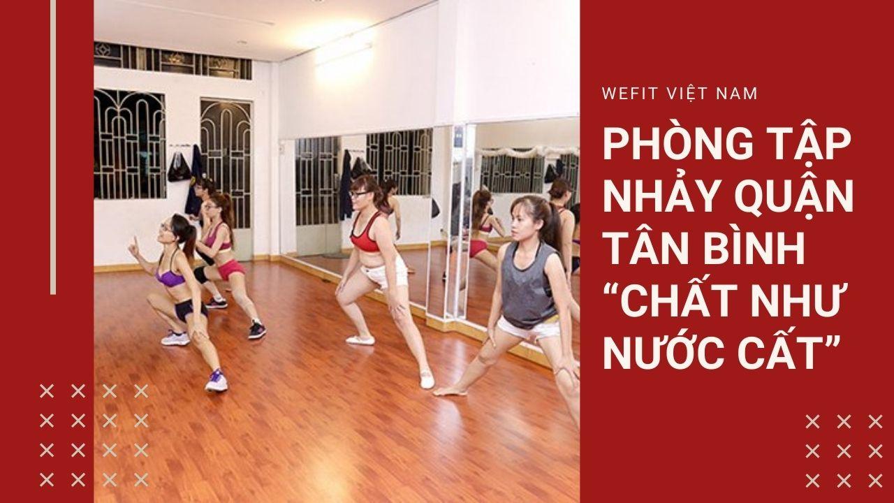 phòng tập nhảy ở Tân Bình