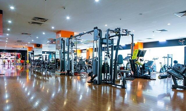Star Fitness thậm chí cũng có những đầu tư cho khu vực thư giãn được tách riêng với không gian phòng tập.
