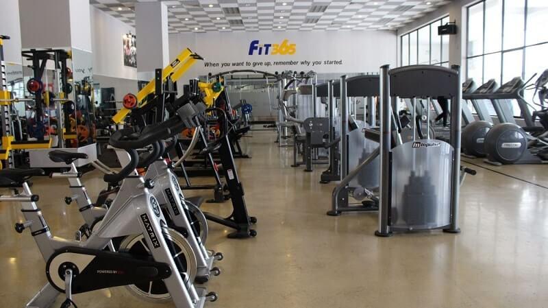 Trung tâm Fit365 Fitness & Yoga Phú Thọ