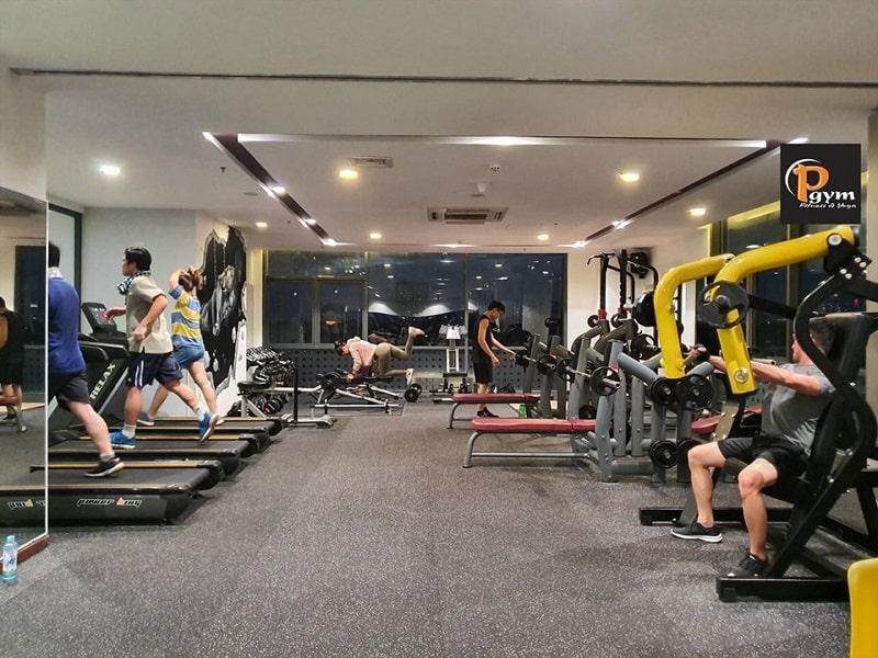 Trung tâm P Gym & Yoga