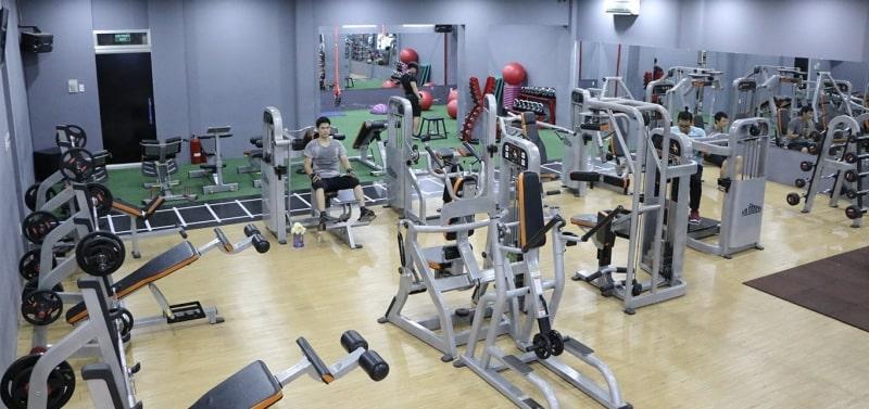 Trung tâm Phú Khang Gym không có quá nhiều dịch vụ tiện ích