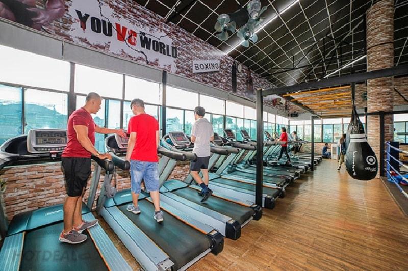 Trung tâm T&V Fitness Center có những đặc điểm gì?