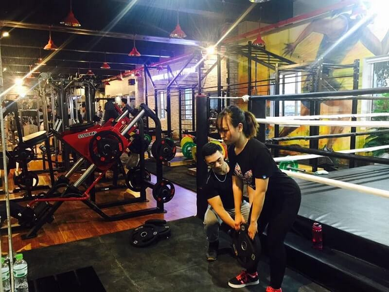 Voucher tại phòng tập Esthetic Ultimate Fitness