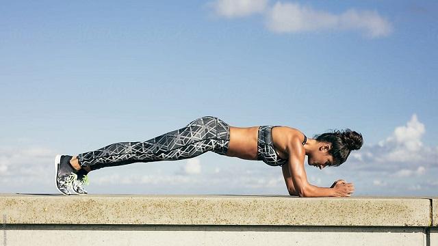 Bài tập Plank giúp giảm mỡ toàn thân