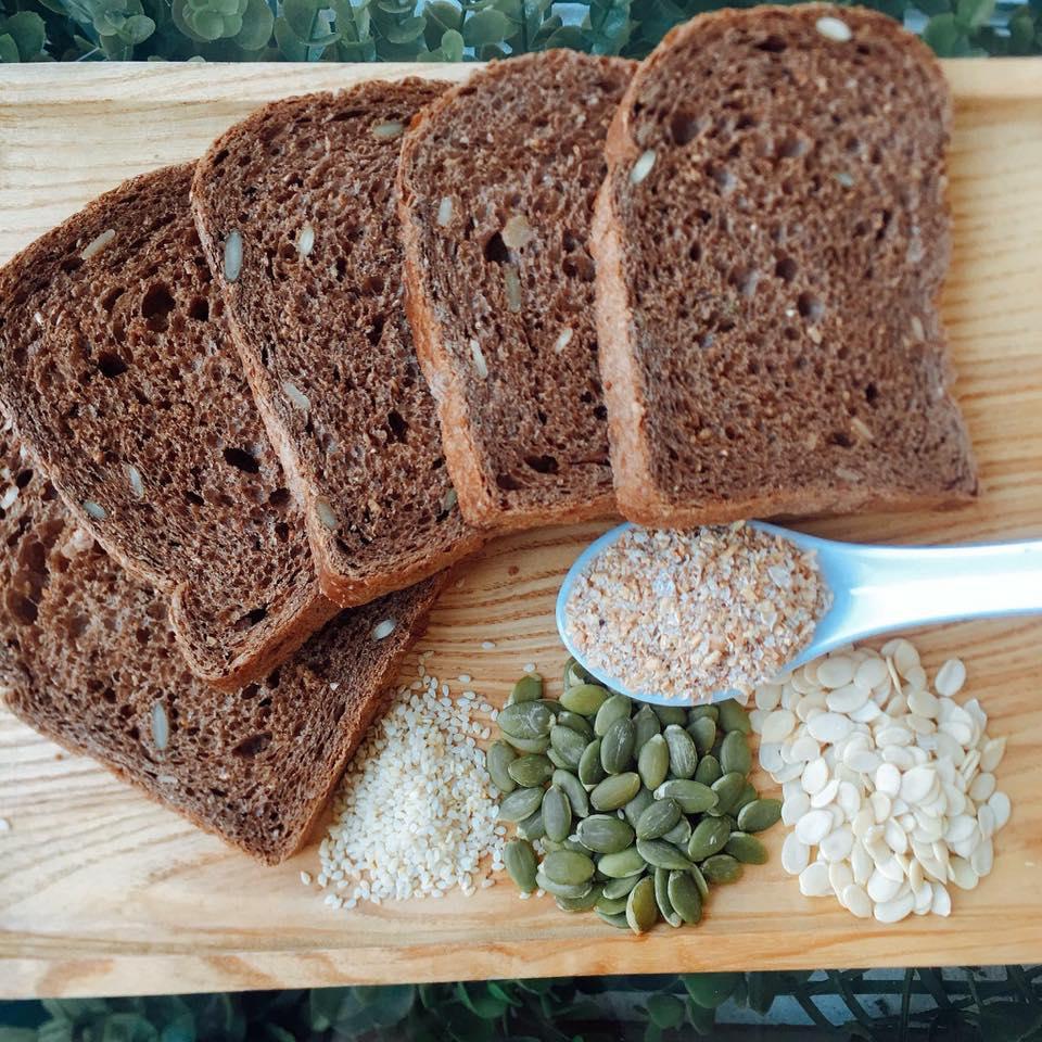 bánh mì đen giảm cân