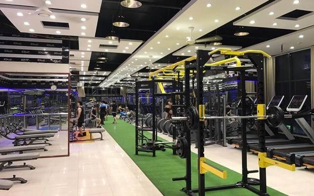 Blue Gym Võ Thị Sáu có diện tích rộng