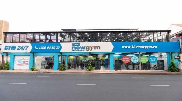 Các cơ sở của phòng tập The New Gym