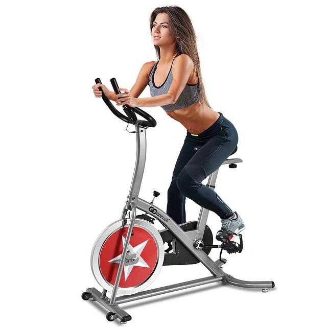 tập gym cho nữ - Cardio nhẹ nhàng cùng xe đạp