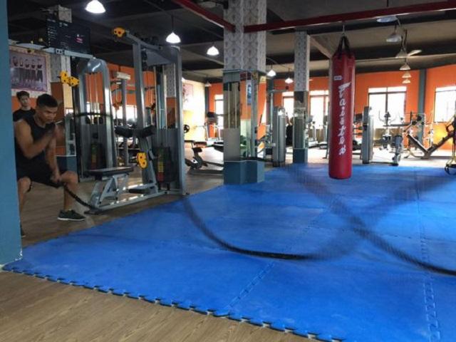 Diện tích Titan Gym Bình Tân nhỏ hơn chi nhánh còn lại