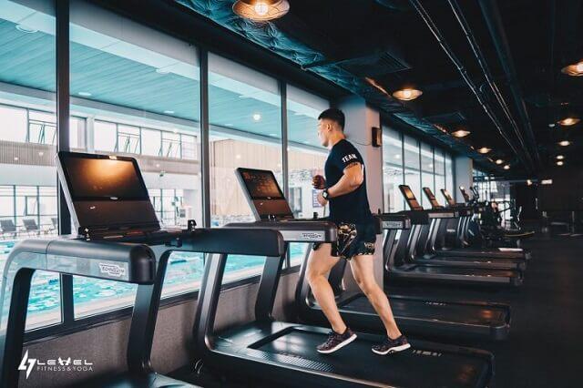 Level fitness nằm trong top 3 phòng tập tốt nhất Hà Nội