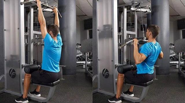 các loại máy tập gym - Máy tập cho cơ xô trong phòng gym