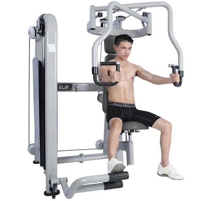 các loại máy tập gym - Máy tập ngực