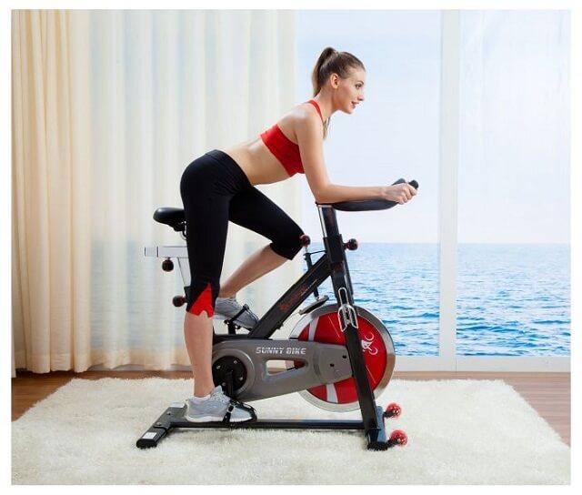 các loại máy tập gym - Máy tập xe đạp