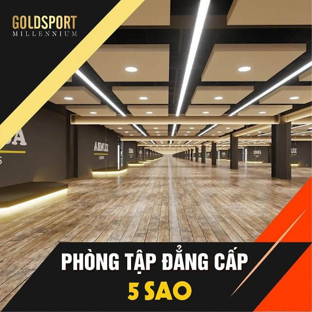 Phòng Tập Gym Gold Sport