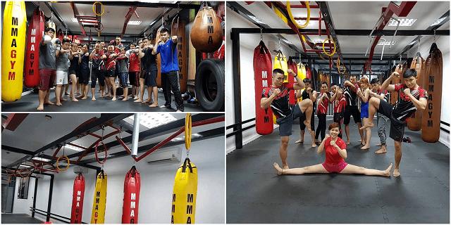 Phòng tập tại Phan Đăng Lưu thích hợp với những người đam mê võ tự do, Muay Thái và Boxing