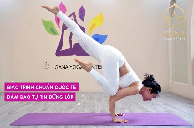 Review chân thực về phòng tập Gana Yoga Center