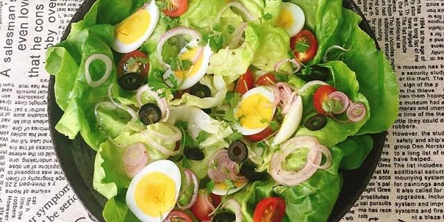 cách làm salad giảm cân đơn giản