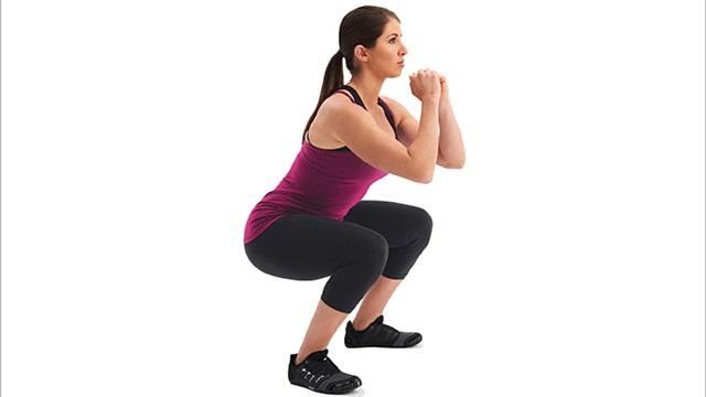tập gym cho nữ - Squat cho vòng 3 quyến rũ hơn