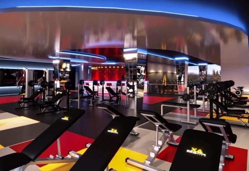 Trung tâm thể hình Rocky Fitness Center