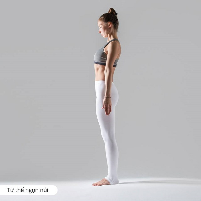 Tư thế ngọn núi trong yoga