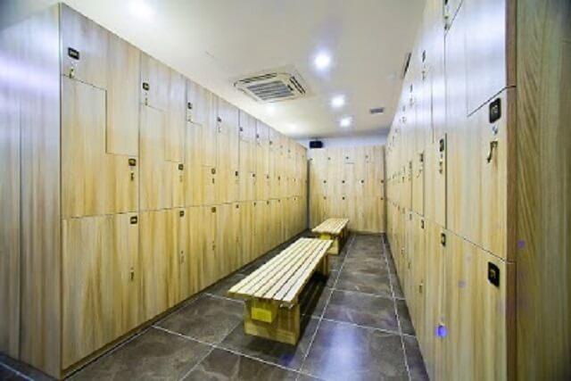 Từng hội viên sẽ được cung cấp chìa khóa tủ đựng đồ riêng biệt