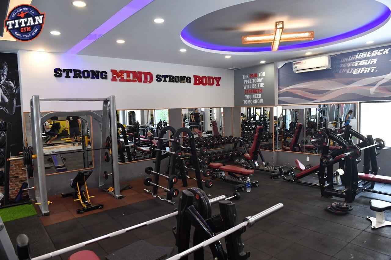 Phòng tập Titan Gym Bình Tân