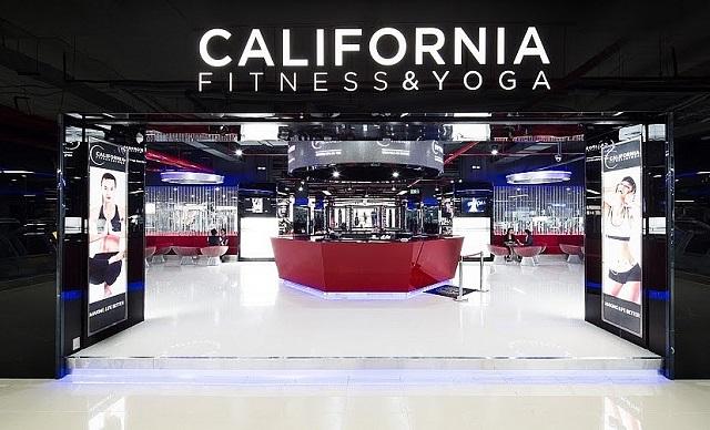 Các loại phòng tập tại California Fitness