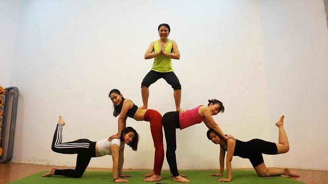 Phòng tập Fitness Garden