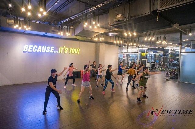 Phòng tập New Time Fitness & Yoga Hà Đông