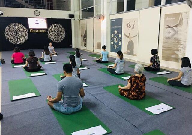 Phòng tập Nutri Yoga