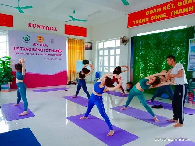Phòng tập Sun Yoga Hà Đông