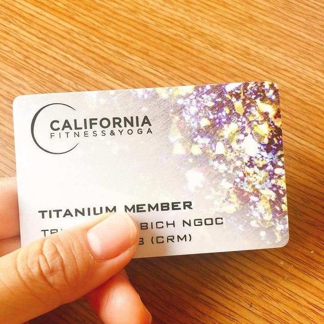 Thẻ Titanium California Fitness